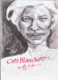 Cate Blanchette, mixed media