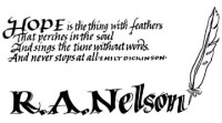 Book plate R.A. Nelson, markers