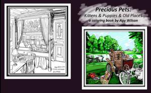 Coloring book Precious pets website